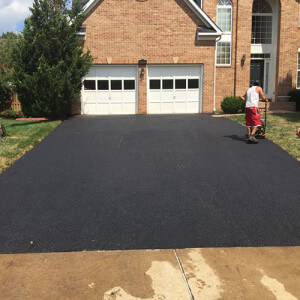 Driveway Paving construction